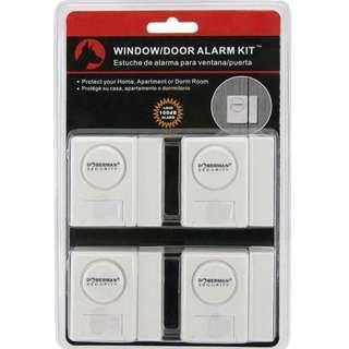 ⚡FLASH SALE!⚡ Window Alarm, Door Alarm, Cabinet Alarms, Kids Safety Alarm, House Alarm, Doberman Security Kit Loud 100dB [49% DISC]