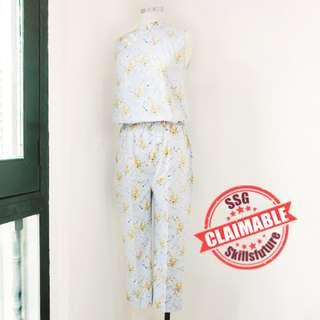 Fashion Sewing 205 – Cheongsam Playsuit (Series of 5)