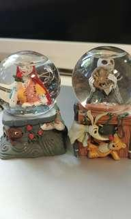 🚚 Nightmare before Christmas snowglobes