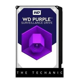 """🚚 WESTERN DIGITAL WD PURPLE 3.5"""" SURVEILLANCE HDD 2TB"""
