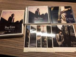 周杰倫 11月的蕭邦 cd+vcd 8-9成新