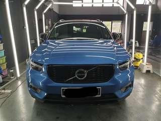 Volvo XC40 9H ceramic glass coating $200 nett