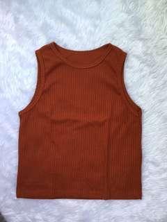 Rusty Orange Top