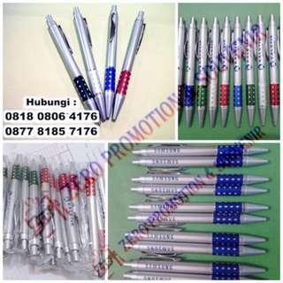 Pen Promosi - Souvenir Klik Tung Tung Metal Berlian