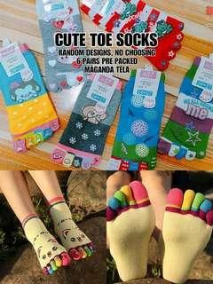 Cute Toe Socks