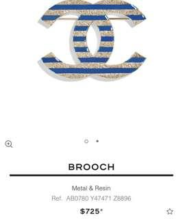 Chanel brooch bros cruise collection mirror
