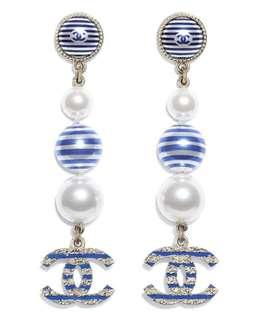 Chanel anting earrings cruise collection mirror