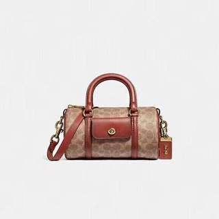 🚚 SALE COACH WOMENS BARREL BAG f54396