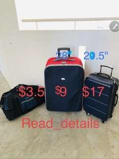 Kallang luggage bag travel suitcase overnight bag