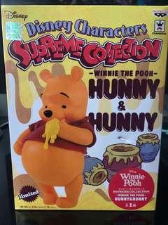 Disney Characters Supreme Collection - Winnie The Pooh Hunny & Hunny 景品