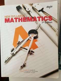 🚚 New syllabus Math 7th Edition