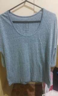 Gray 3/4 Shirt