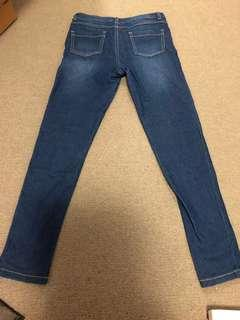 Girls jeans as new