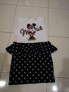 Minnie Mouse Sleeveless skirt