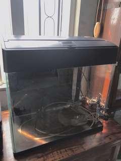 17吋圓角玻璃魚缸連泵fish tank with pump