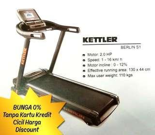 KETTLER Treadmill BERLIN S1 Cicil Harga Promo Bunga 0%