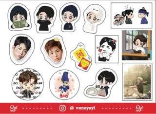 Sticker Park Bo Gum 2018 2019 Asia Tour
