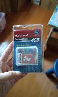 🚚 創見CF4GB 記憶卡