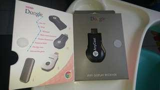 Anycast dongle Wifi display receiver tv