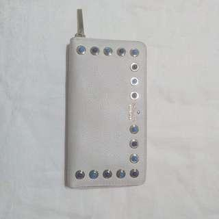 Kate Spade White Wallet with Studs