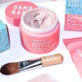 🚚 Sand & Sky Porefining Pink Clay Mask