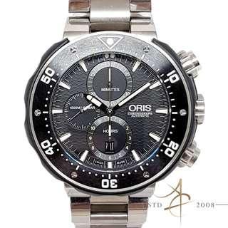 [Full Set] Oris Men's ProDiver Set Titanium Automatic Chronograph Watch