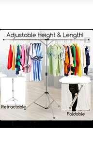 [Rental] Clothes rack backdrop rack retractable rack portable rack rental