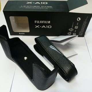 FUJIFILM X-A10 (LEATHER CASE)