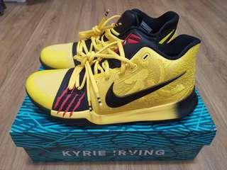 Nike Kyrie 3 Bruce Lee(100% Authentic)