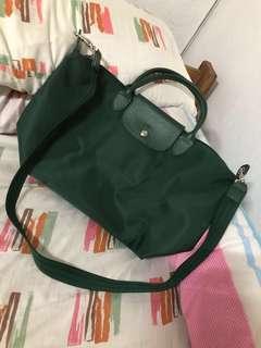 Green Longchamp Bag