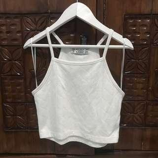Pull and bear halter top crop