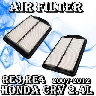 Honda CRV 2007-2012~RE3,RE4 2.4L Air Filter  Car Air Con Workshop Services and Repair