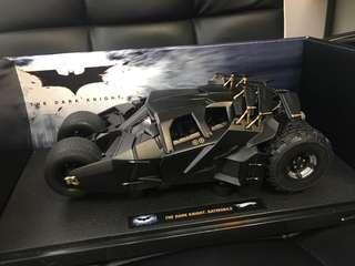 共4架 batmobile hot wheels 1/18 elite 蝙蝠車 batpod moebius batman 1989 1/24 tumbler