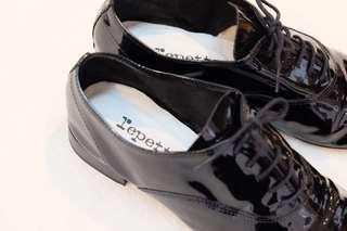 🚚 法國🇫🇷repetto 基本黑色牛津鞋40號
