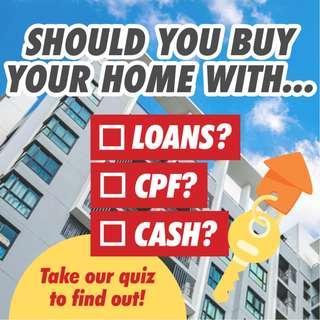Loans vs CPF vs Cash