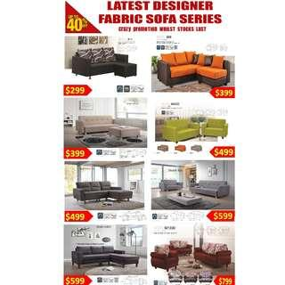 Designer Sofa FROM $299