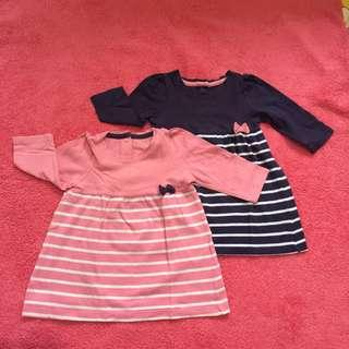 Mothercare take all blue and pink top