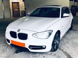 BMW 118IA SPORT 2012