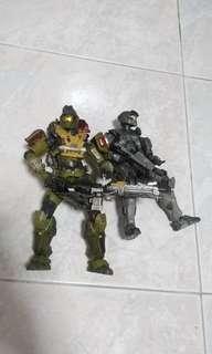 Halo Reach Figurines