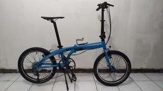 Sepeda Lipat Tern link B7 upgrade 9 speed