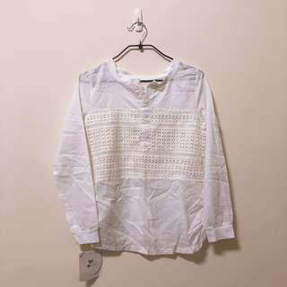 🚚 白色襯衫