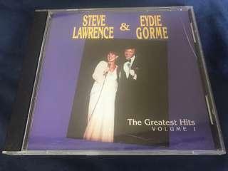 2002 - STEVE LAWRENCE & EYDIE GORME THE GREATEST HITS VOL 1 CD