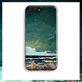 🚚 [PO] Stormy Ocean (Paint) iPhone Cover