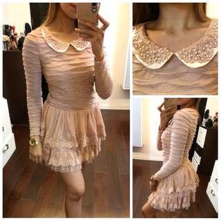 Old Rose Dainty Dress
