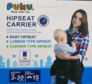 Puku Baby Hipseat / Hipseat Carrier