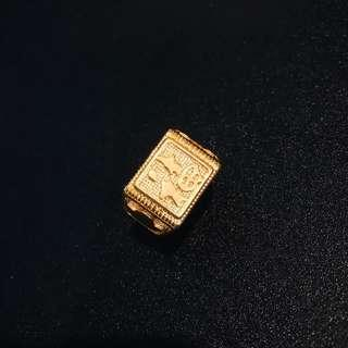 Men Gentleman Adjustable Vietnam Gold Plated Ring -  Hock 福
