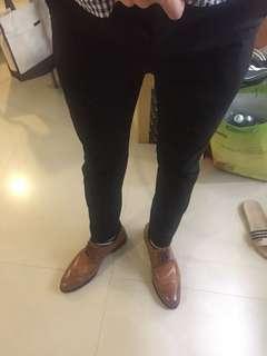 🚚 Forever 21 西裝褲 修身版型 30-31腰可穿 二手美品