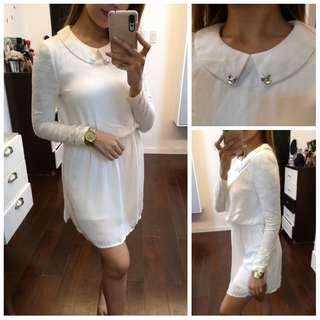 White Laced Dainty Dress
