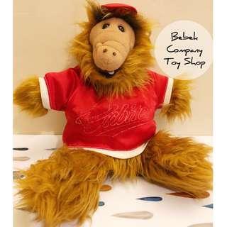 🇺🇸美國 絕版 1988年 VTG ALF plush Puppets 棒球裝 阿福 娃娃 手偶 絨毛玩具 古董玩具