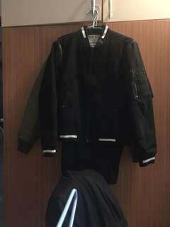 🚚 原價3500 潮牌5cm 棒球外套 s號短版 不適合太高人穿 夾克 二手